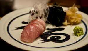 Yellowfin Sashimi. Photo by camwheeler