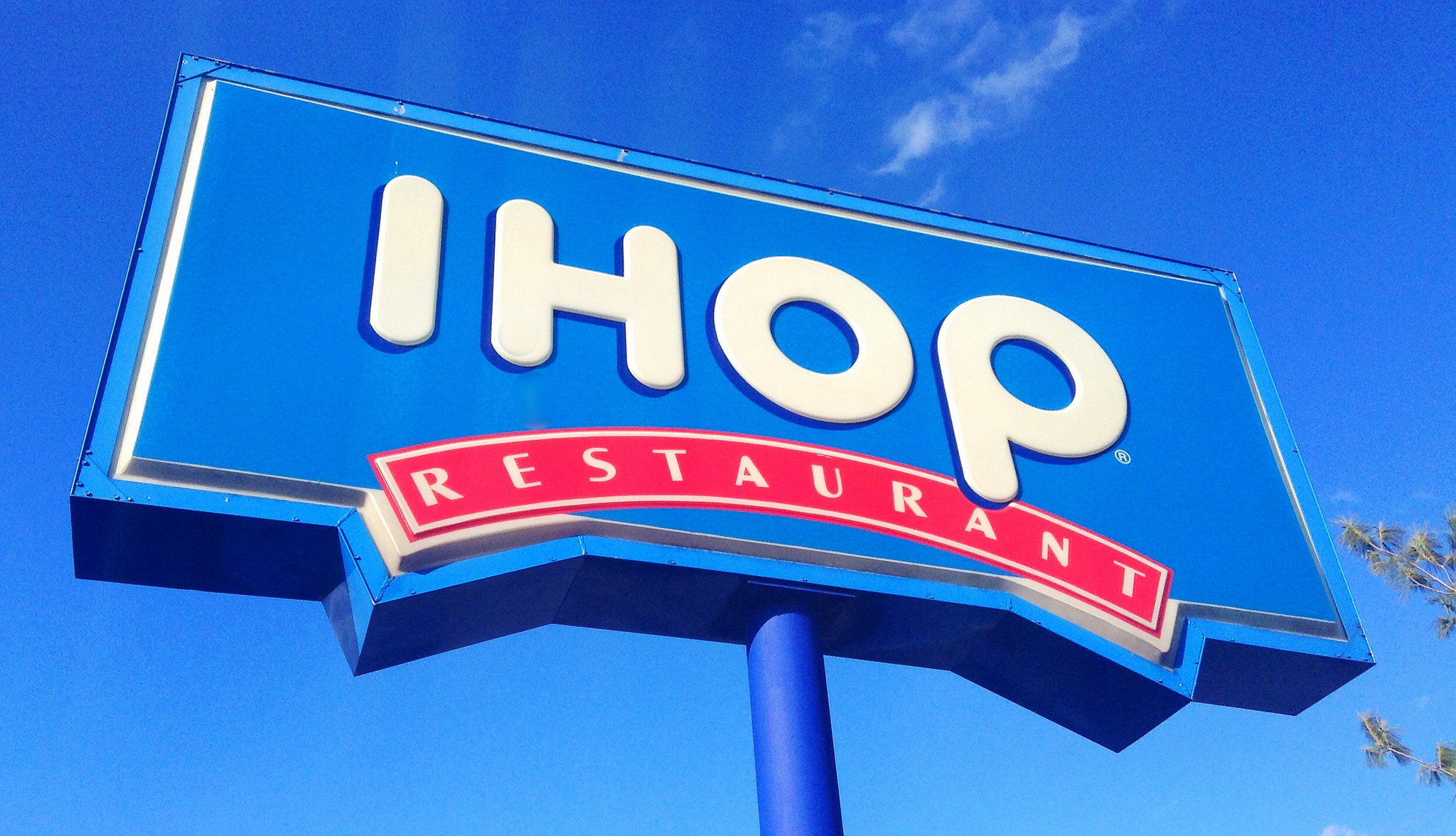 ihop Ihop was established in 1958 as the international house of pancakes from 1992 to 2003, this logo was used simultaneously with the next, more simplistic logo in 2003, it was gradually phased out in favor of the next logo it is still used at a few scant locations.